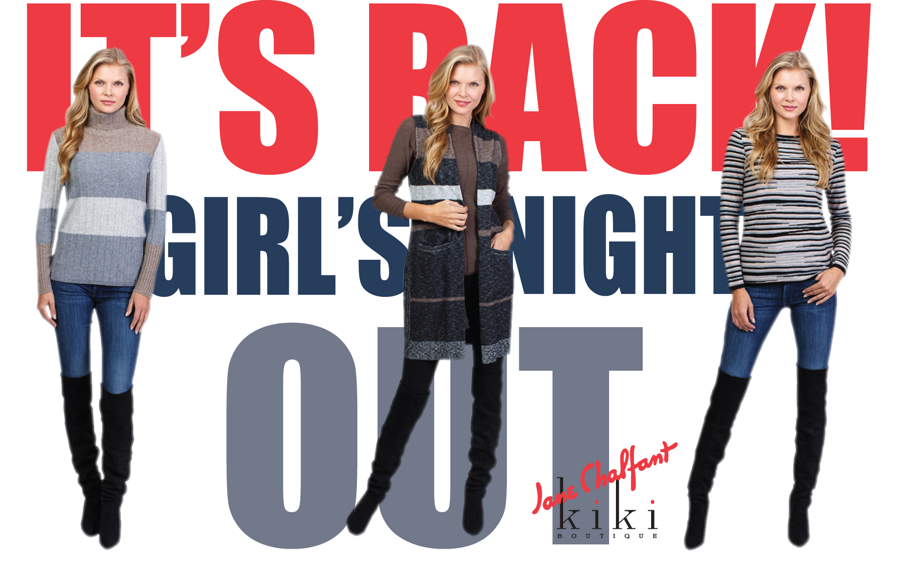 It's Back! Girl's Night Out.